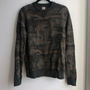Unisex Camo Sweater